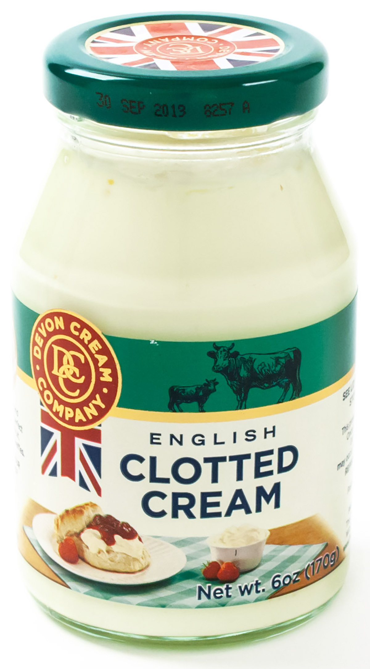 Cream Clotted 55 Butterfat Pasteurized Dairy Glass Jar Ref Imported England 12 6 Oz Food Innovations