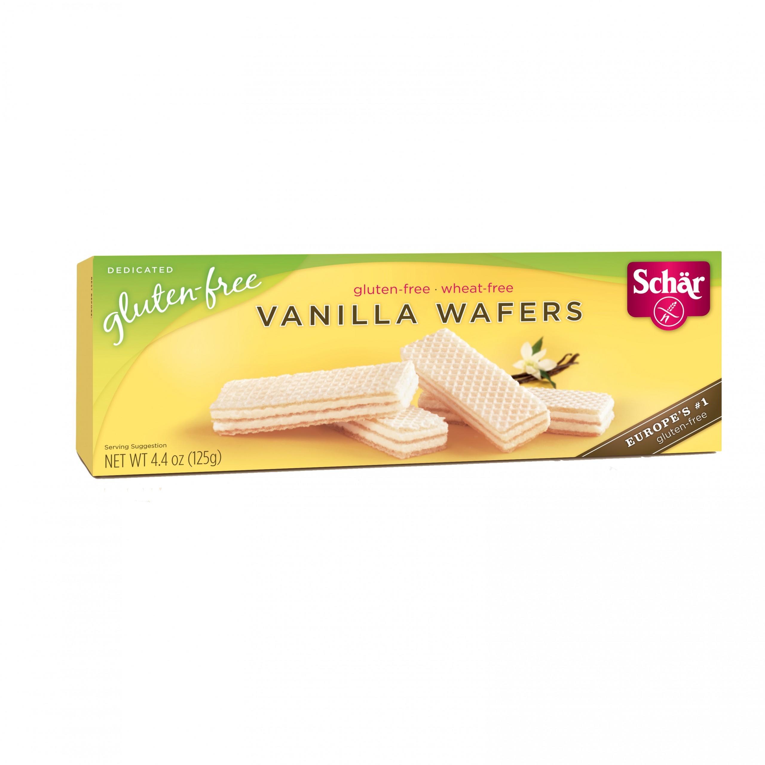 WAFER, VANILLA GLUTEN-FREE SCHAR - 12/4.4 OZ - Food ...